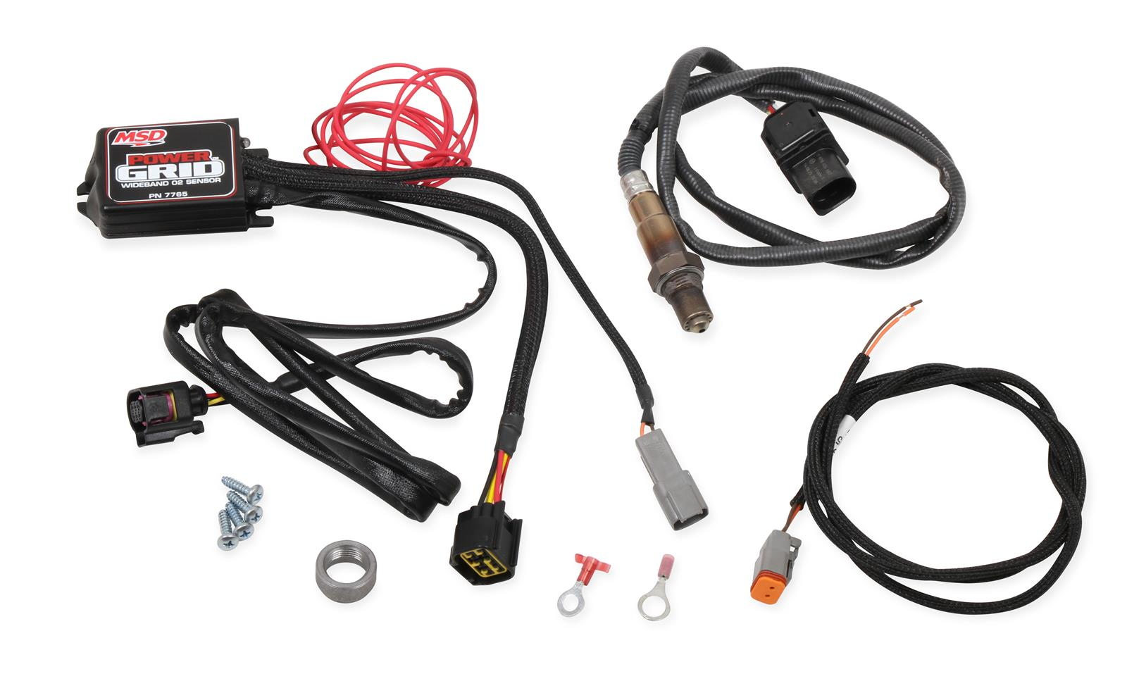 Msd Power Grid Wide Band Oxygen Sensor Modules
