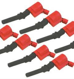msd ford blaster coil on plug ignition coil packs 82428 free shipping on orders over 99 at summit racing [ 1500 x 870 Pixel ]