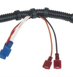 msd universal wiring harnesses 8876 free shipping on orders over 99 at summit racing [ 1500 x 643 Pixel ]