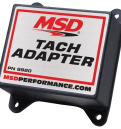 msd magnetic pickup tach adapters 8920 free shipping on orders over 99 at summit racing [ 1500 x 1440 Pixel ]