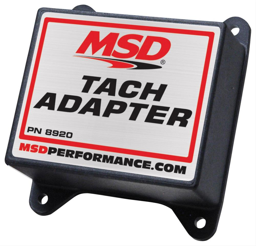 medium resolution of msd magnetic pickup tach adapters 8920 free shipping on orders over 99 at summit racing
