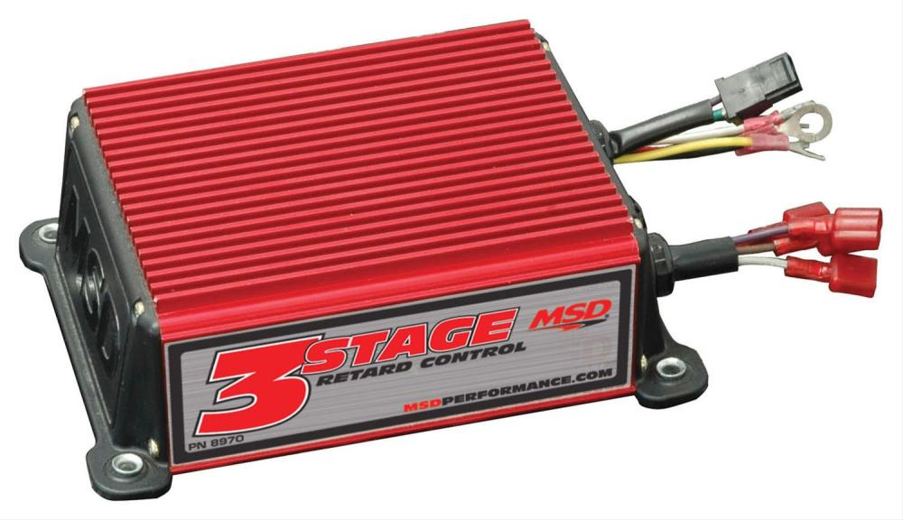 medium resolution of msd three stage retard controls 8970 free shipping on orders over 99 at summit racing