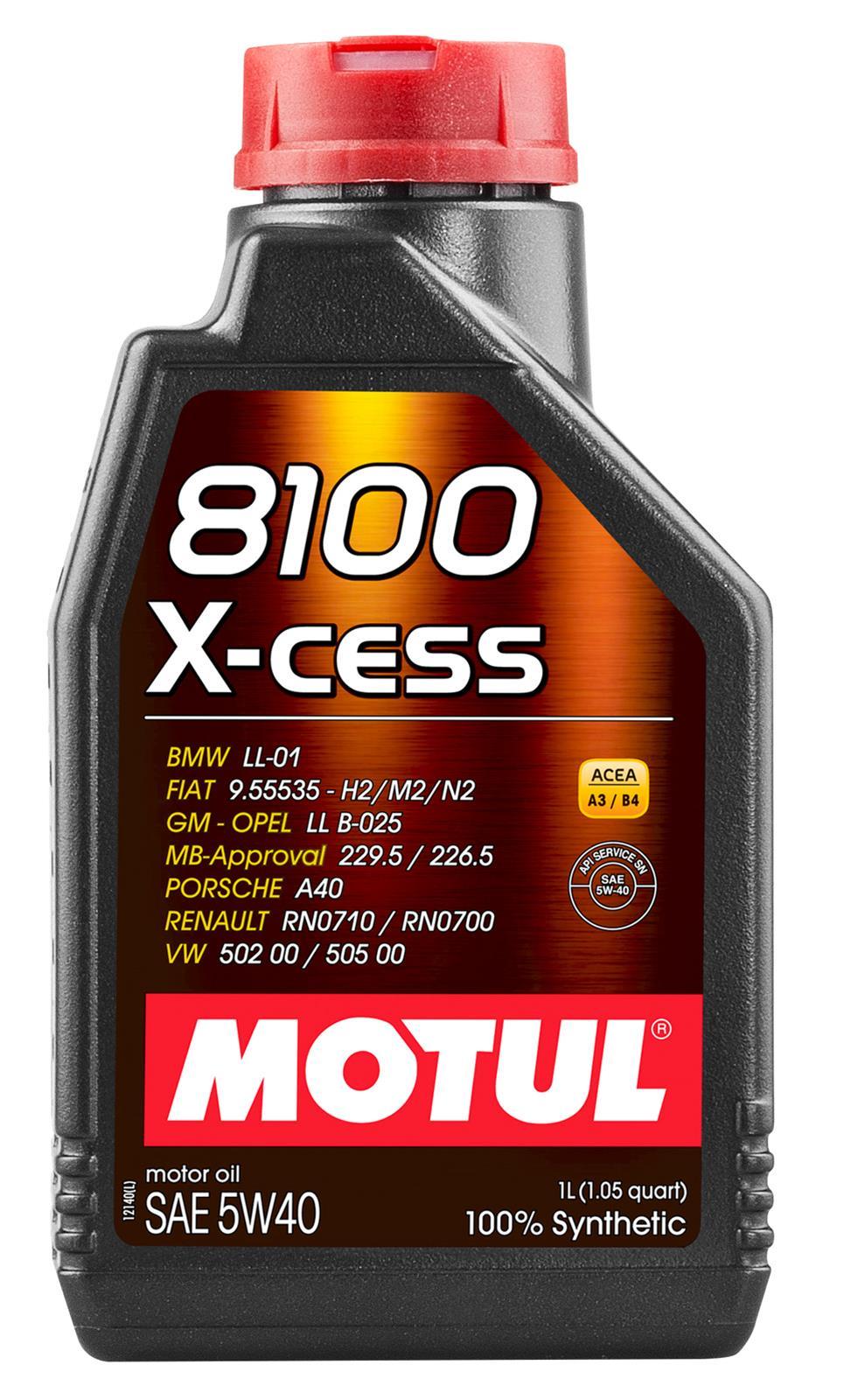 medium resolution of motul 8100 x cess motor oil 102784 free shipping on orders over 99 at summit racing
