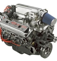 chevrolet performance ram jet 350 c i d 351 hp long block crate engines 12499120 free shipping [ 1600 x 1200 Pixel ]