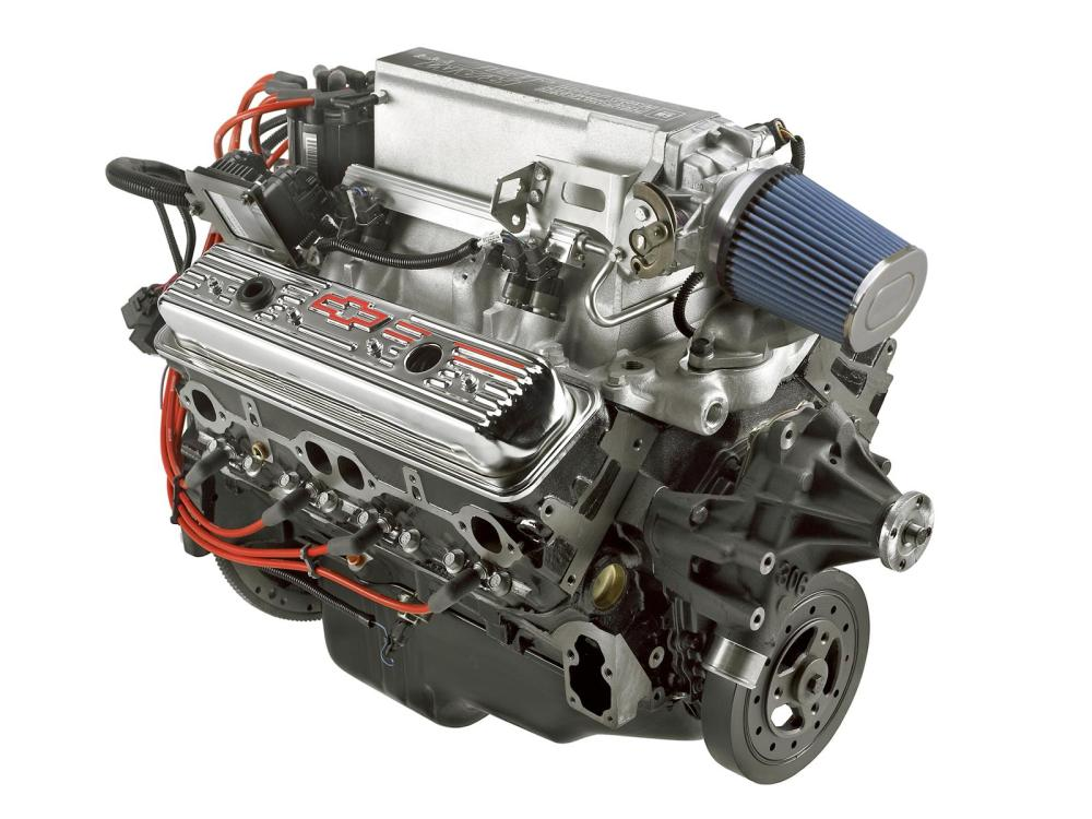 medium resolution of chevrolet performance ram jet 350 c i d 351 hp long block crate engines 12499120 free shipping