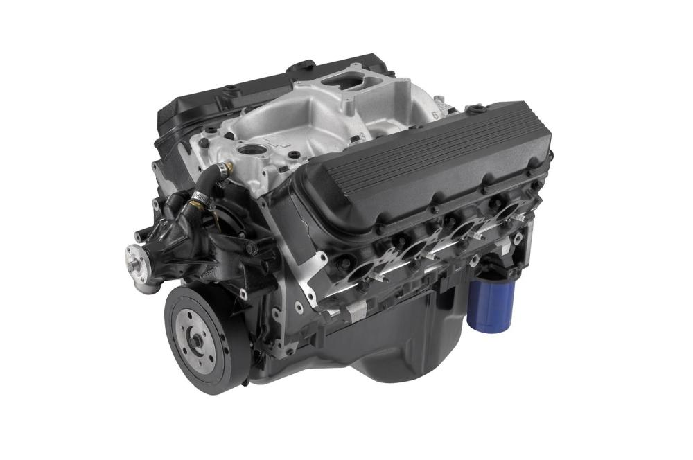medium resolution of chevrolet performance 454 c i d ho 438 hp long block crate engines 12568774 free shipping on orders over 99 at summit racing