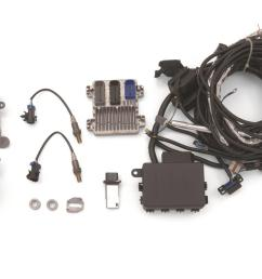 chevrolet performance ls7 engine controller kits 19354334 free shipping on orders over 99 at summit racing [ 1600 x 1063 Pixel ]