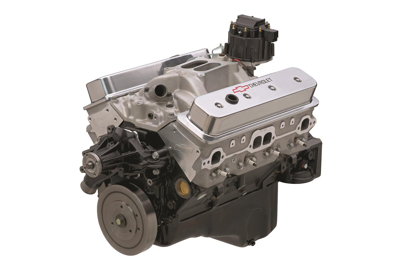 hight resolution of chevrolet performance sp350 385 hp base long block crate engines 19417624 free shipping on orders over 99 at summit racing