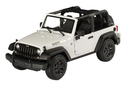 small resolution of 1 18 scale jeep wrangler willys wheeler edition diecast model 31610 white free shipping on orders over 99 at summit racing