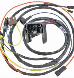 chevrolet el camino restoparts supplied engine wiring harnesses 11805 free shipping on orders over 99 at summit racing [ 1200 x 1046 Pixel ]