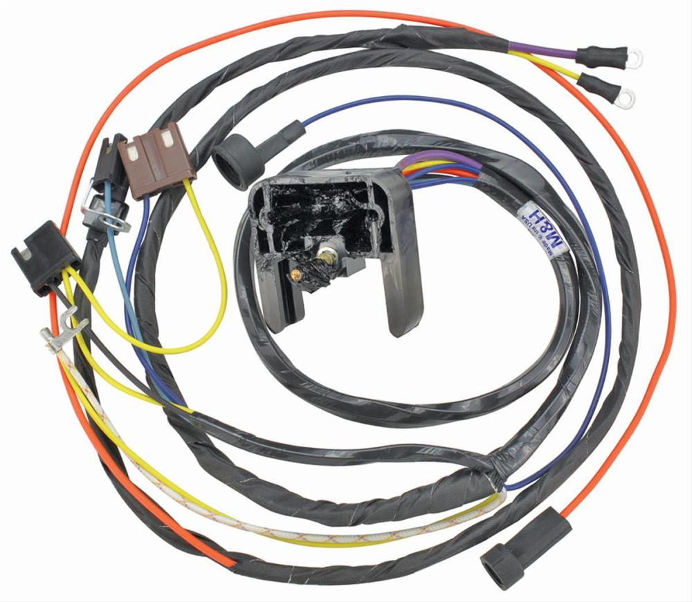 medium resolution of chevrolet el camino restoparts supplied engine wiring harnesses 11805 free shipping on orders over 99 at summit racing