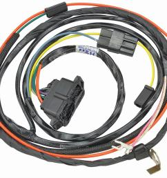 chevrolet el camino original parts group engine wiring harnesses 17385 free shipping on orders over 99 at summit racing [ 1200 x 928 Pixel ]
