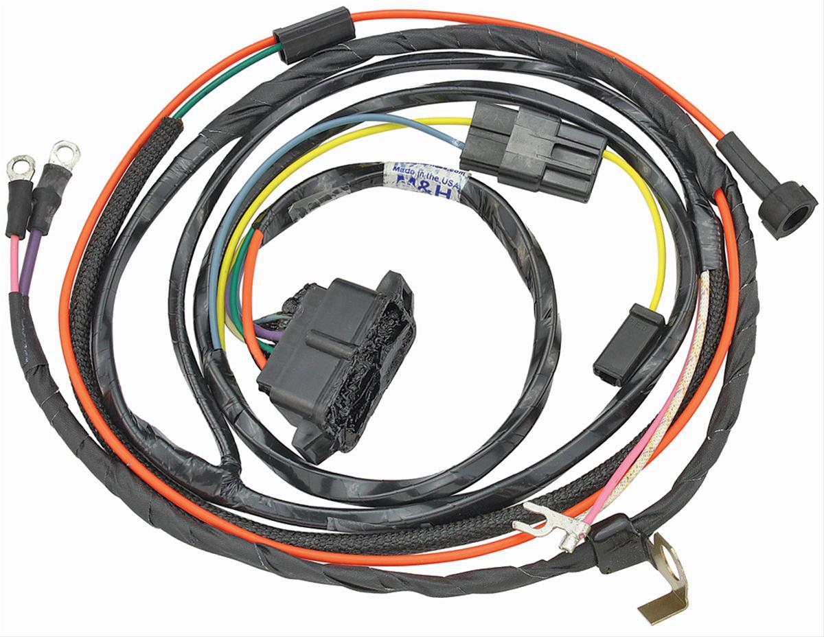 hight resolution of chevrolet el camino original parts group engine wiring harnesses 17385 free shipping on orders over 99 at summit racing