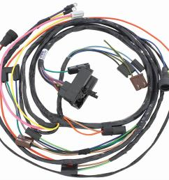 chevrolet el camino restoparts supplied engine wiring harnesses 38975 free shipping on orders over 99 at summit racing [ 1200 x 960 Pixel ]