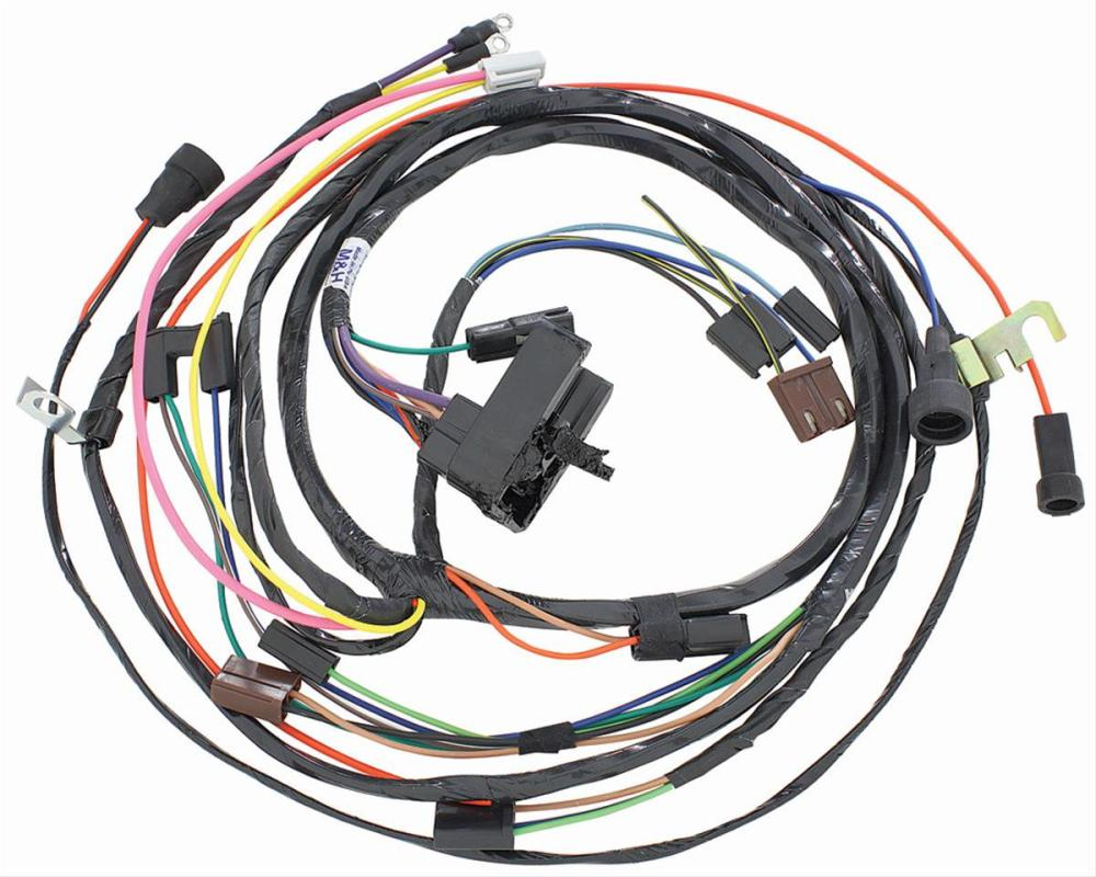 medium resolution of chevrolet el camino restoparts supplied engine wiring harnesses 38975 free shipping on orders over 99 at summit racing