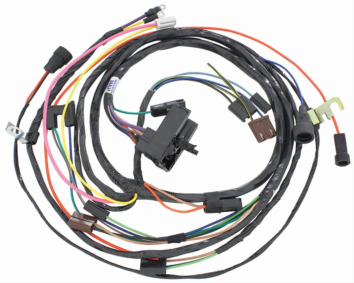 hight resolution of chevrolet el camino restoparts supplied engine wiring harnesses 38975 free shipping on orders over 99 at summit racing