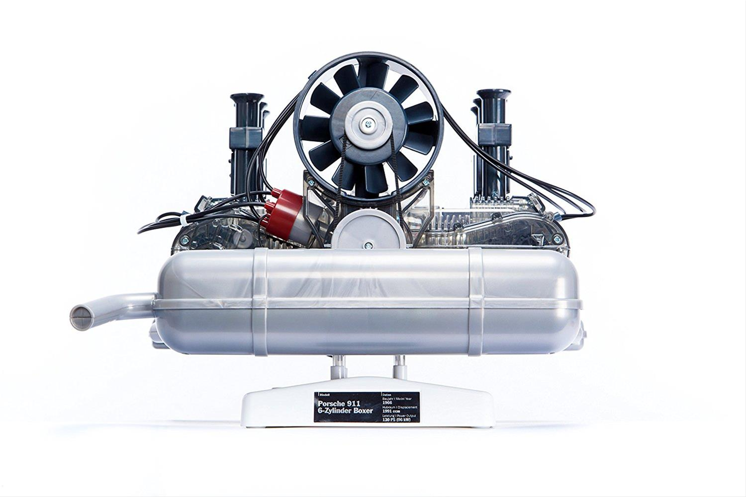 hight resolution of transparent porsche 911 flat six boxer engine model kit pe12 free shipping on orders over 99 at summit racing