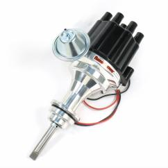 Pertronix Ignitor Ii Wiring Diagram 1997 Ford Ranger Parts Flame Thrower Plug And Play Billet Distributors With Module D141700 Free Shipping On Orders Over 99 At Summit Racing