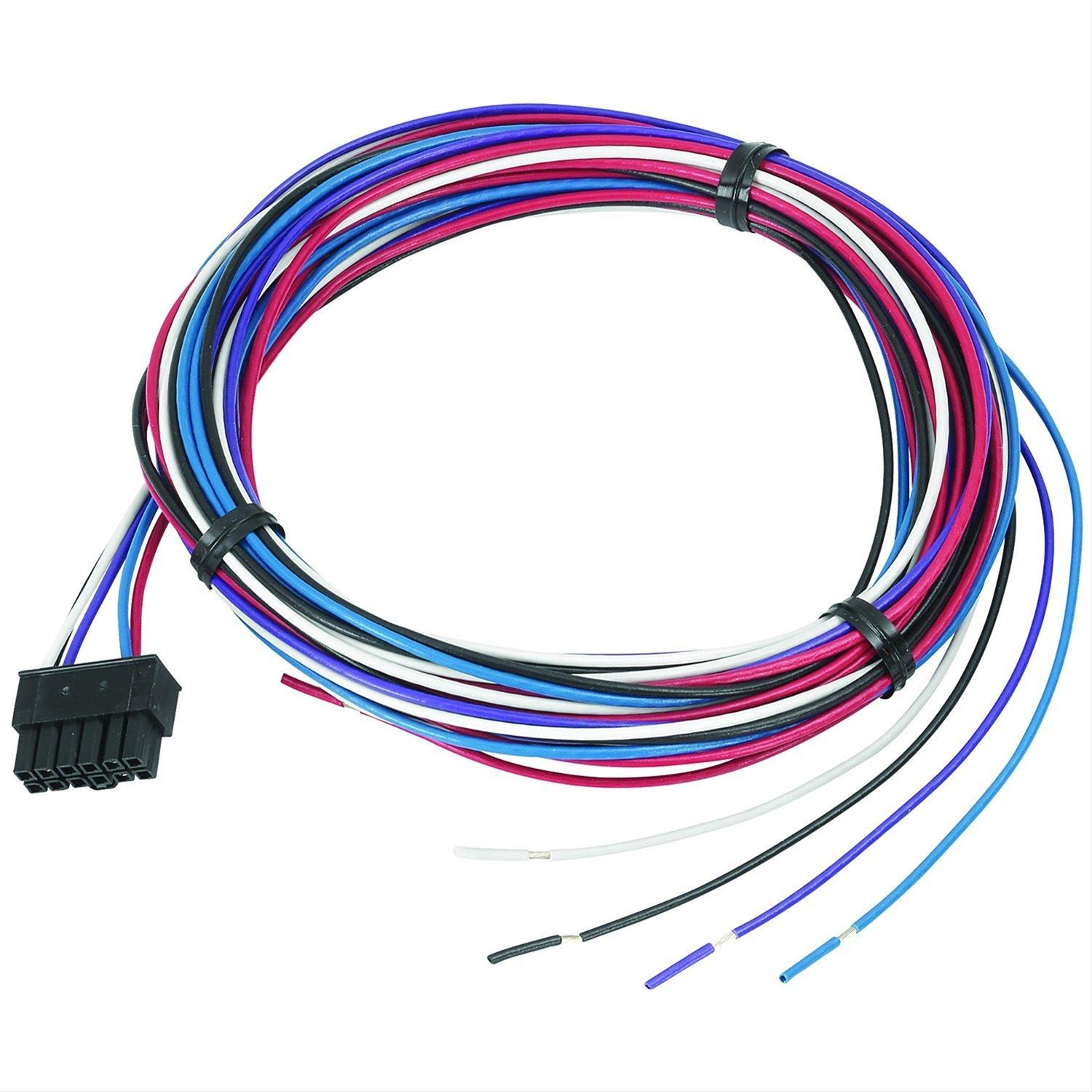 hight resolution of autometer spek pro voltmeter gauge wiring harnesses p19372 free shipping on orders over 99 at summit racing