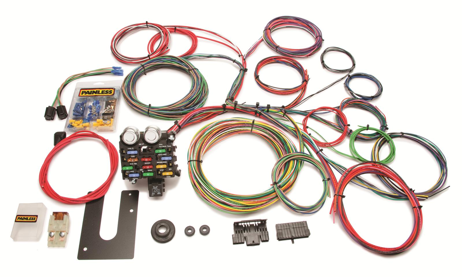 Painless Performance 21 Circuit Universal Harnesses 10102 Free