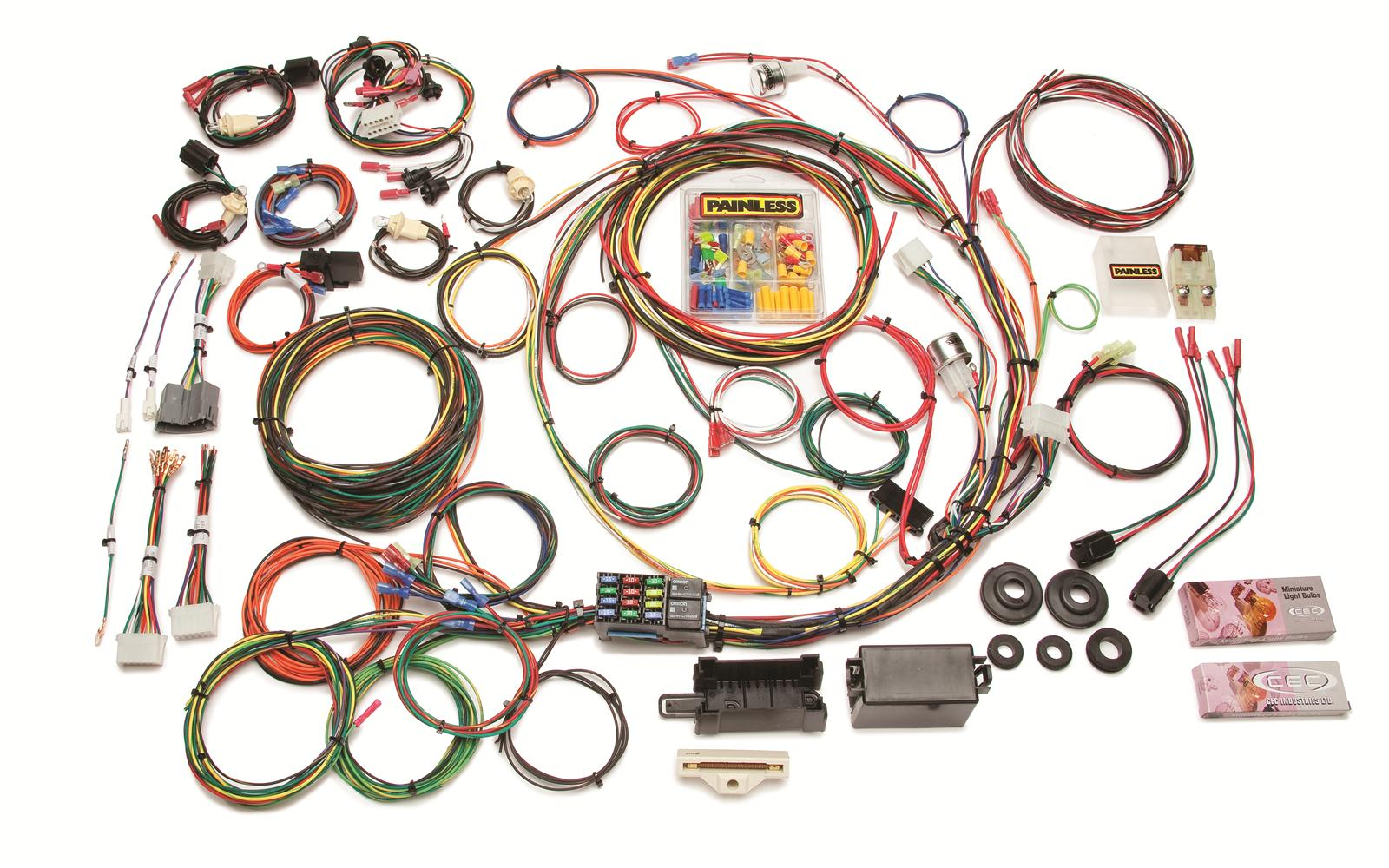 hight resolution of painless performance 21 circuit 1967 1977 direct fit ford f series harnesses 10117 free shipping on orders over 99 at summit racing
