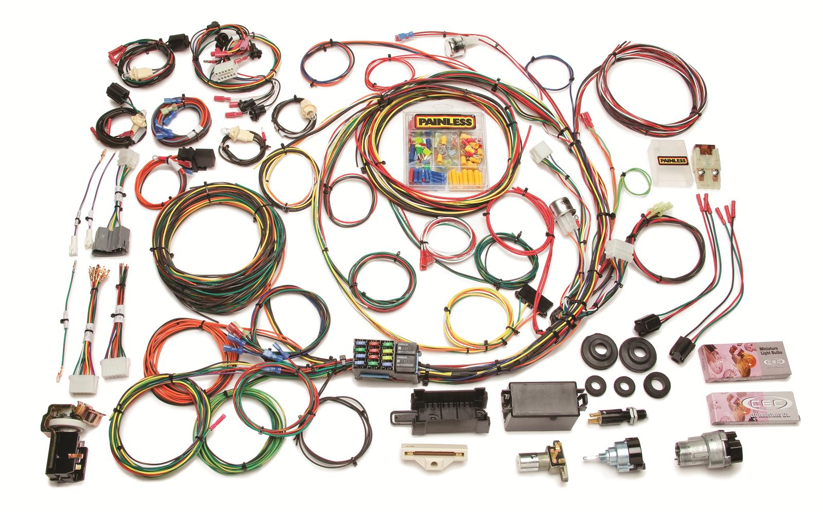 hight resolution of painless performance 21 circuit 1967 1977 direct fit ford f series 1985 dodge truck wiring harness 77 dodge truck wiring harness painless