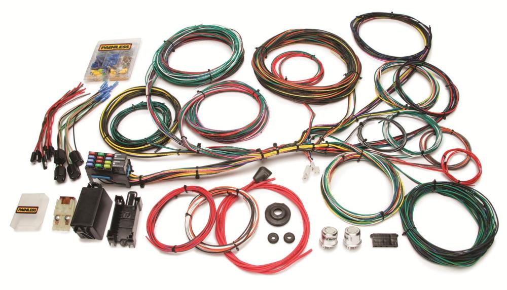 medium resolution of painless performance 21 circuit ford color coded universal harnesses 10123 free shipping on orders over 99 at summit racing