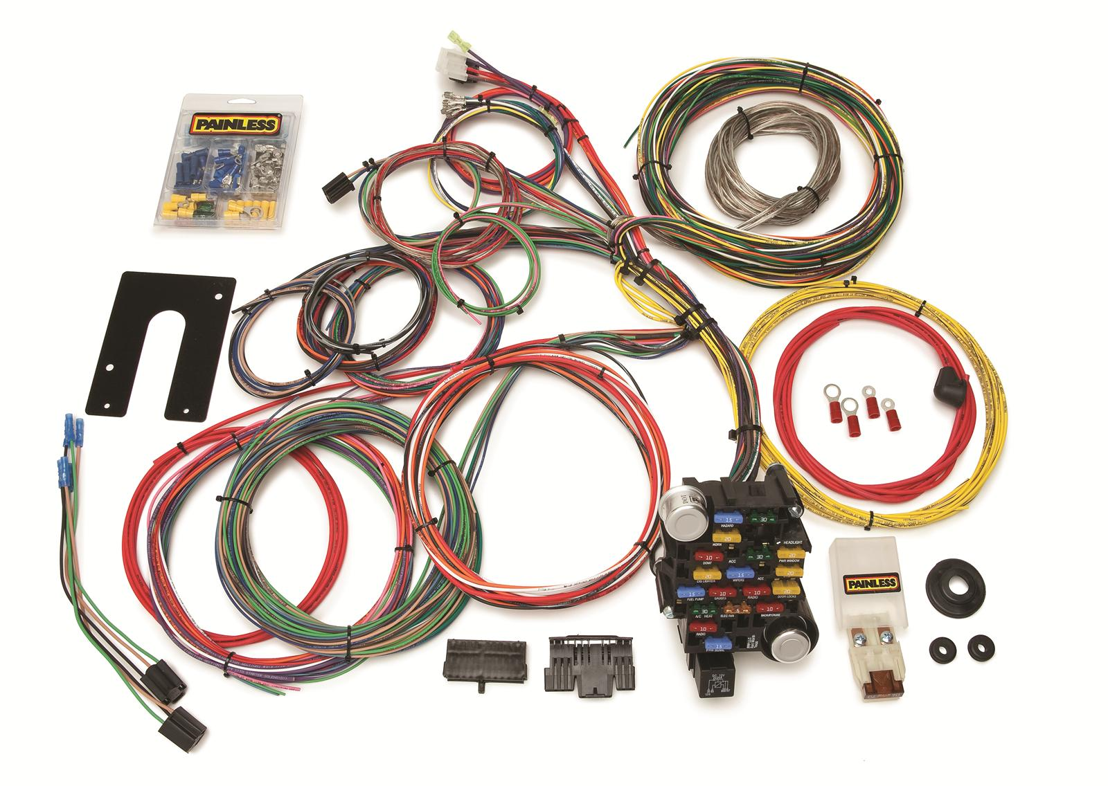 hight resolution of painless performance 28 circuit universal harnesses 10201 free shipping on orders over 99 at summit racing