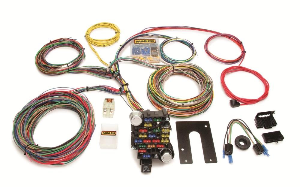 medium resolution of painless performance 28 circuit universal harnesses 10202 free rh summitracing com painless wiring diagram gm universal wiring harness diagram