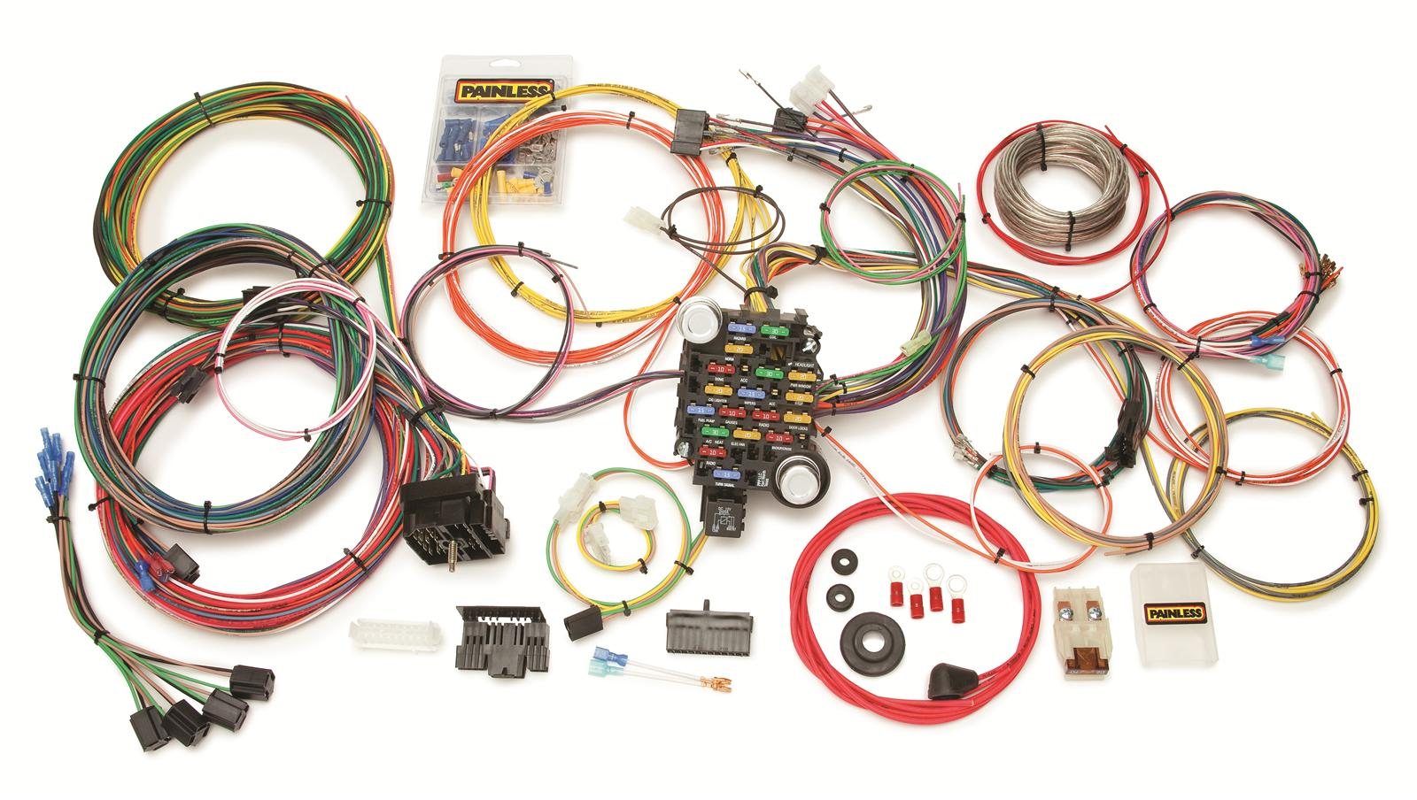 painless wiring 4 pin connector diagram 10205 harness18 circuit gm ebay