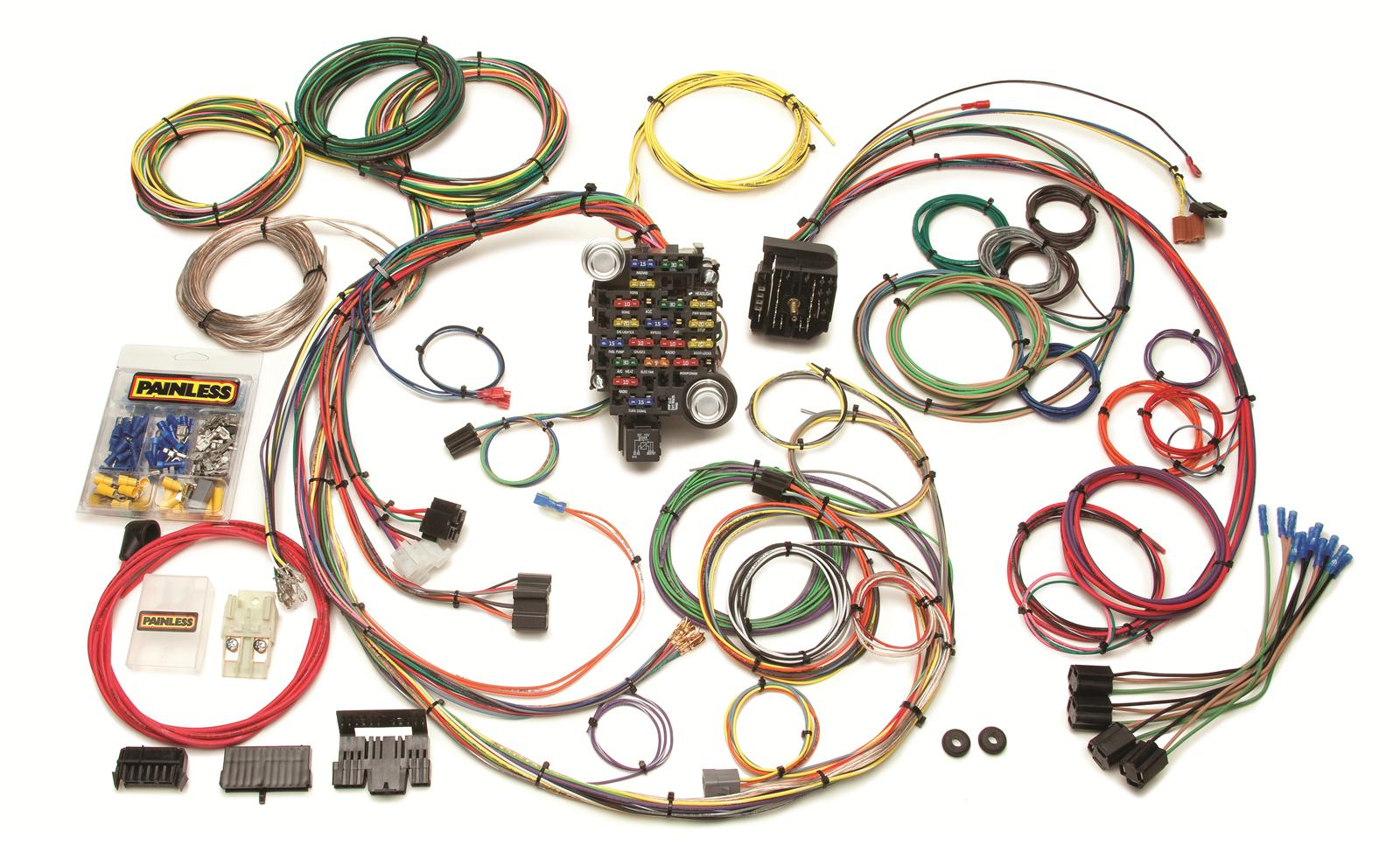 Painless Performance 25 Circuit 1969 74 GM Muscle Car Harnesses
