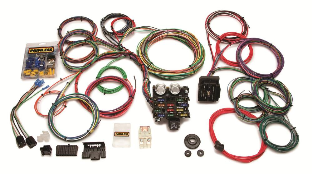 medium resolution of wrg 1887 12 circuit painless wiring harness 20103 1981 flh wiring diagram