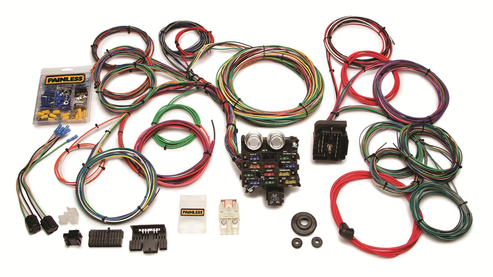 hight resolution of wrg 1887 12 circuit painless wiring harness 20103 1981 flh wiring diagram
