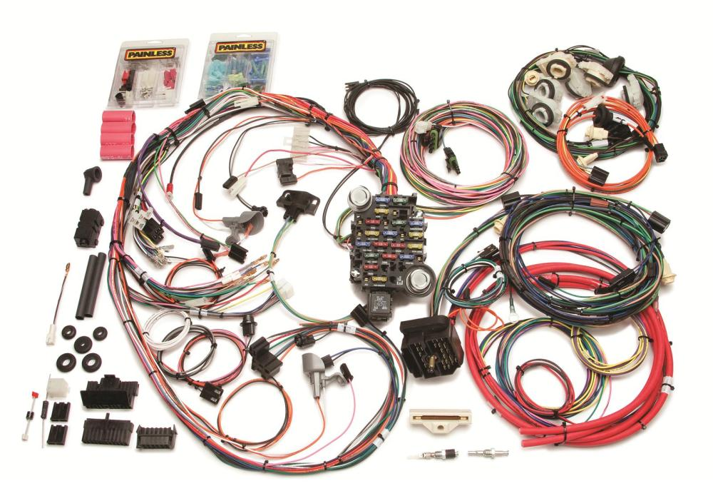 medium resolution of painless performance 26 circuit 1978 81 direct fit camaro harnesses dodge truck wiring harness kits 77 dodge truck wiring harness painless