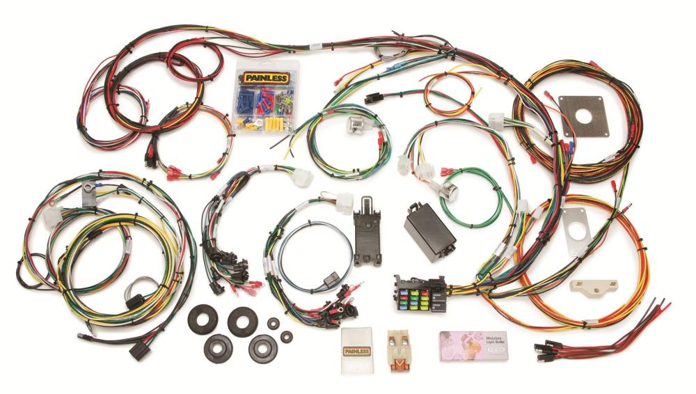 medium resolution of 65 mustang wire harness kit wiring diagrams value 1966 mustang wiring harness kit