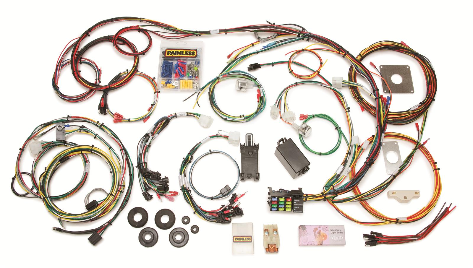 hight resolution of 65 mustang wire harness kit wiring diagrams value 1966 mustang wiring harness kit