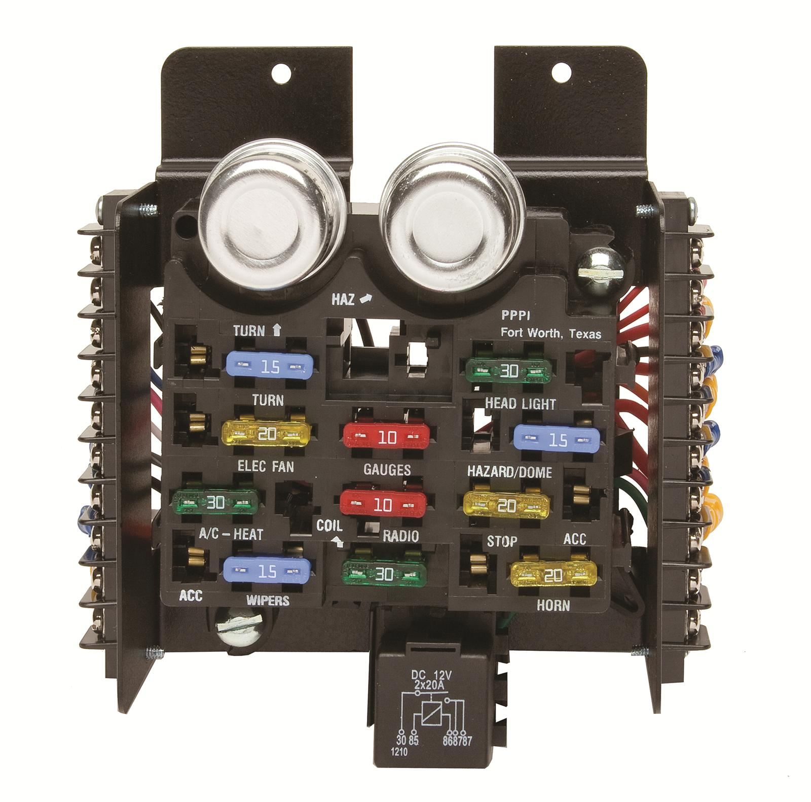 hight resolution of painless wiring 30001 fuse block 12 circuit universal kit