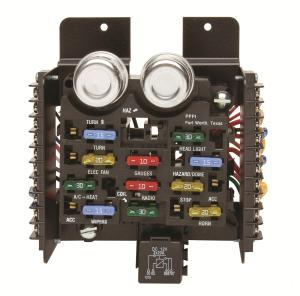 Painless Performance Universal Fuse Blocks 30001  Free Shipping on Orders Over $99 at Summit Racing
