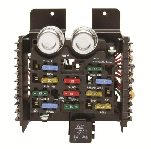 small resolution of painless wiring 30001 fuse block 12 circuit universal kit