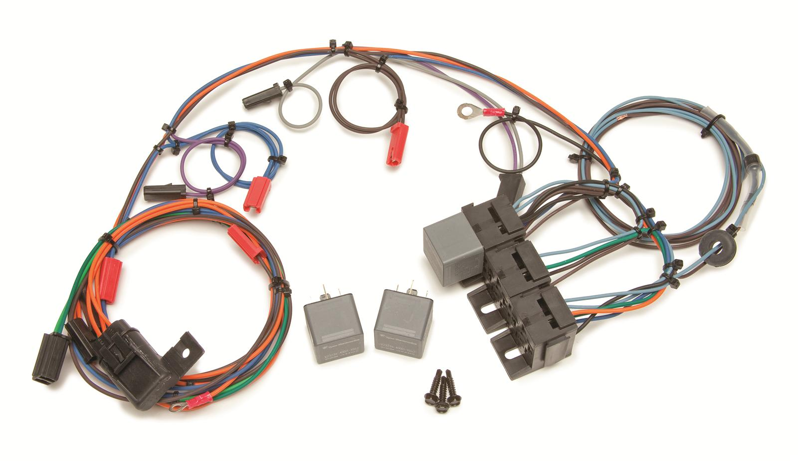 hight resolution of painless wiring 30818 wiring harness headlight door chevy painless wiring harness ls1 painless wiring harness