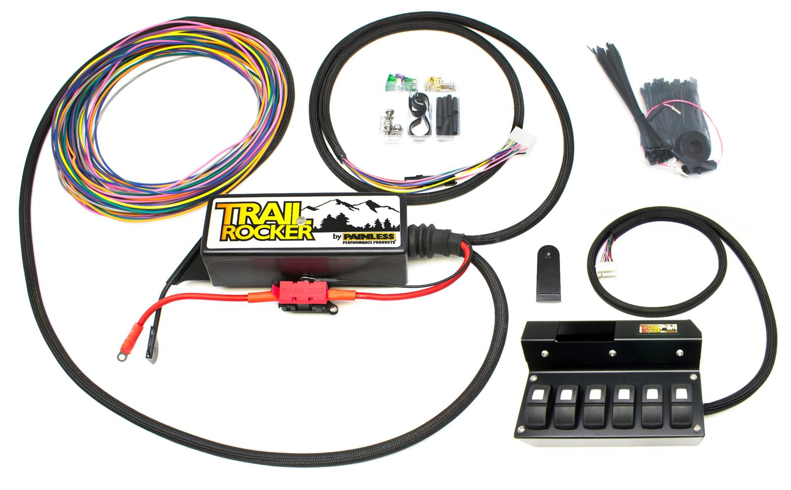 hight resolution of painless performance trail rocker jeep jk accessory control systems 57004 free shipping on orders over 99 at summit racing