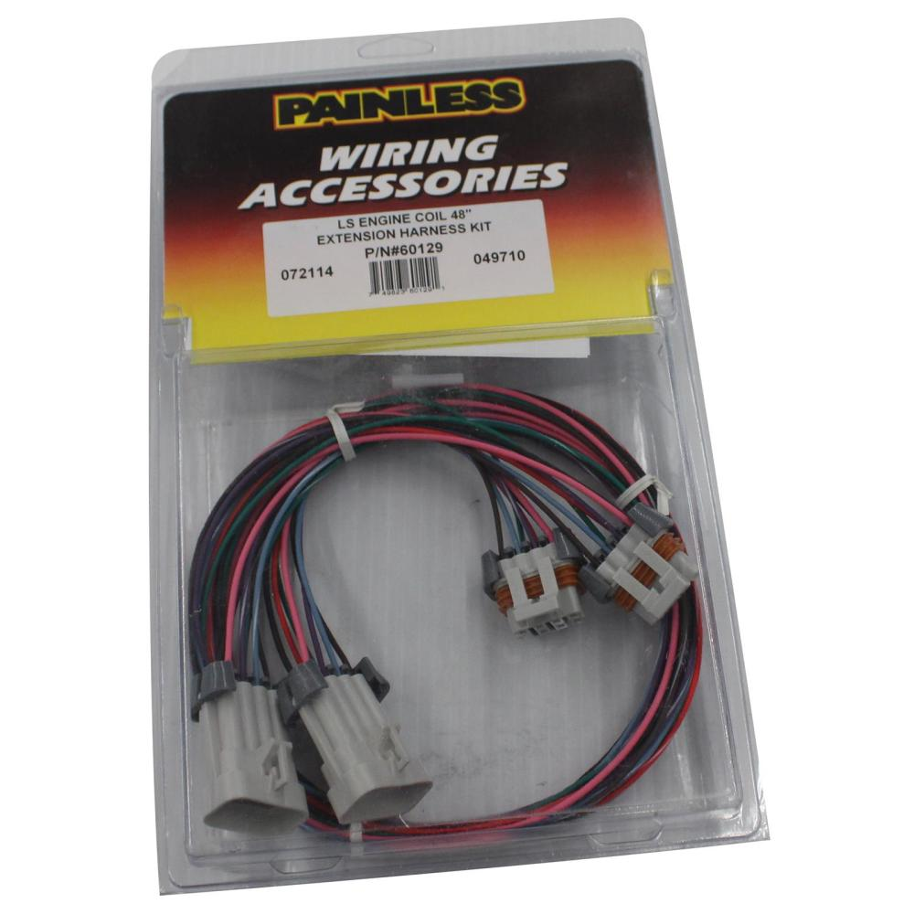 medium resolution of painless performance ls ignition coil wiring harness extensions 60129 free shipping on orders over 99 at summit racing