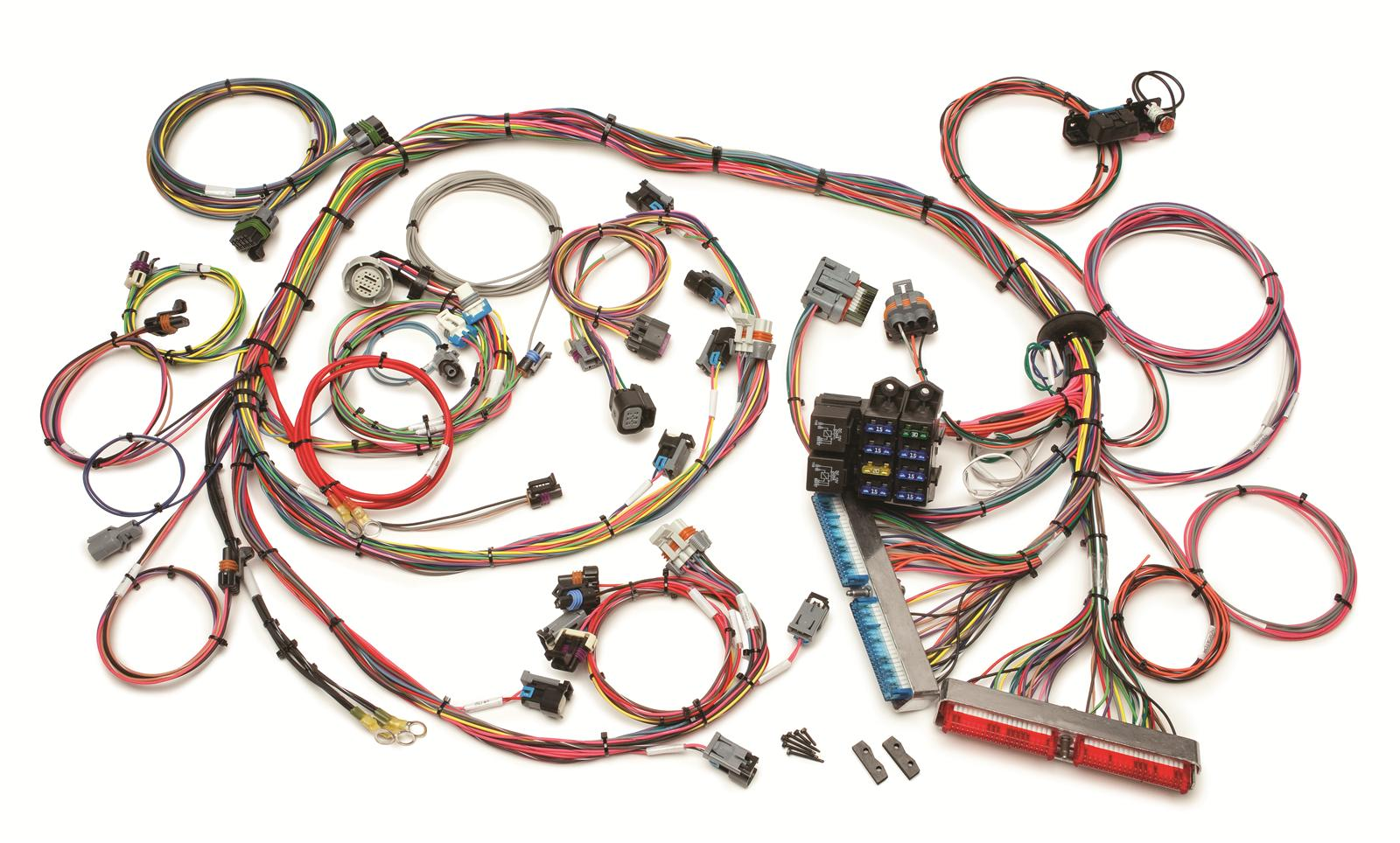hight resolution of painless engine wiring harness engine swap front fuse gm ls wiring harness project rowdy ep014 ls1 wiring harness diagram