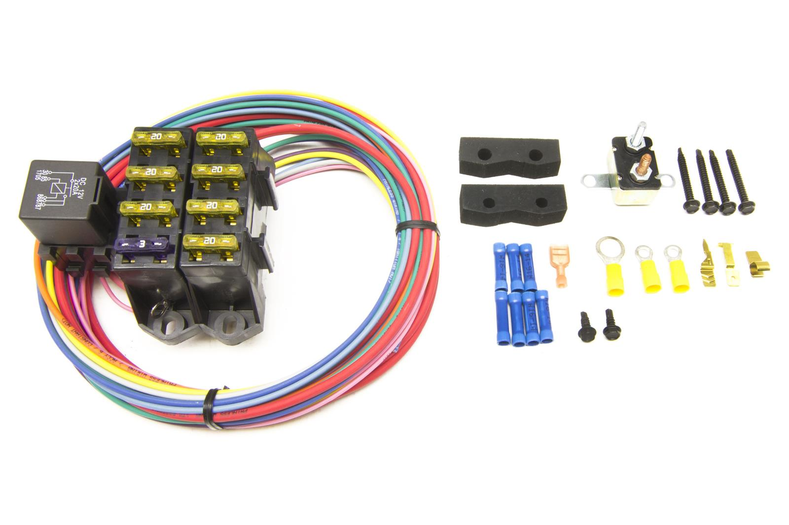 hight resolution of painless performance universal fuse blocks 70107 free shipping on orders over 99 at summit racing