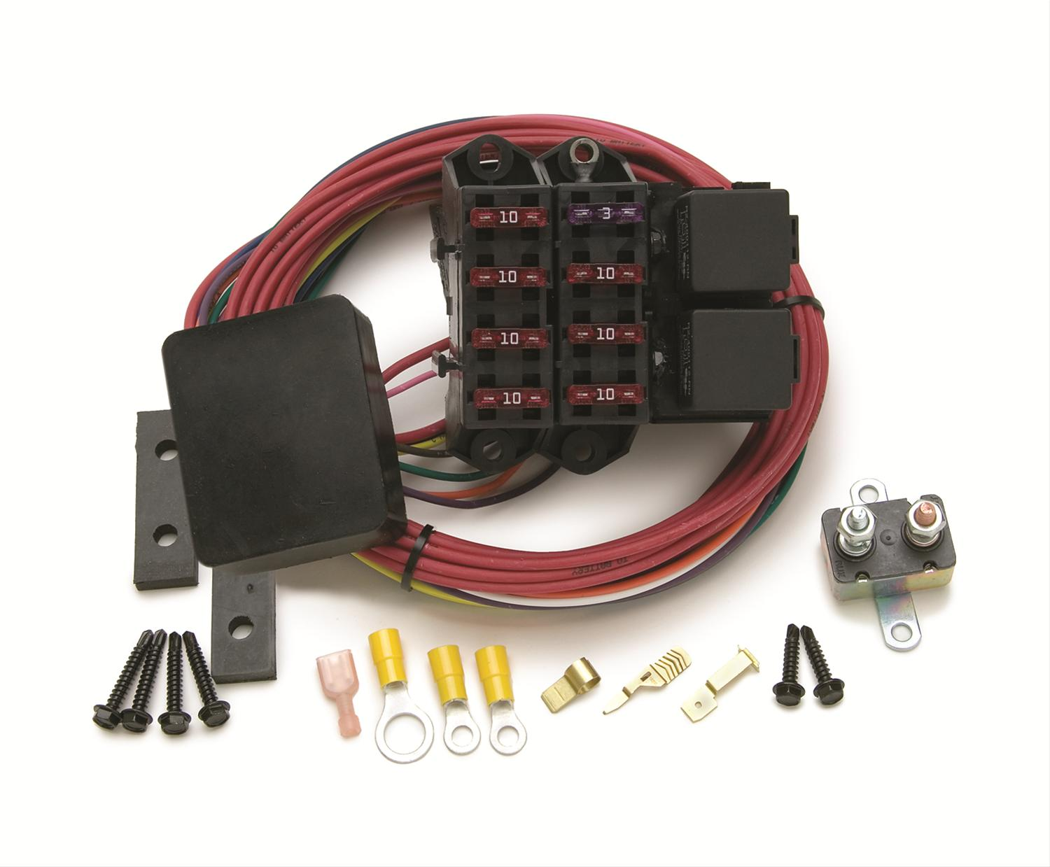 hight resolution of painless performance universal fuse blocks 70217 free shipping on orders over 99 at summit racing