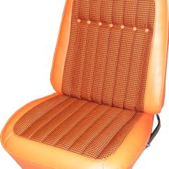 Orange Bucket Chair Bumbo Safety Pui Interiors Seat Covers 69ht10u Free Shipping On