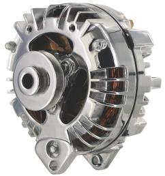 dodge ramcharger powermaster retro alternators 175191 free shipping on orders over 99 at summit racing [ 1461 x 1600 Pixel ]