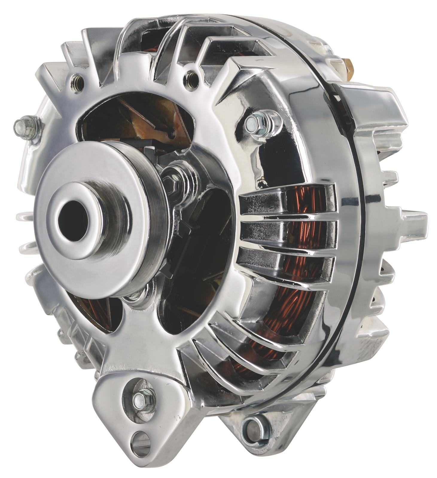 hight resolution of dodge ramcharger powermaster retro alternators 175191 free shipping on orders over 99 at summit racing