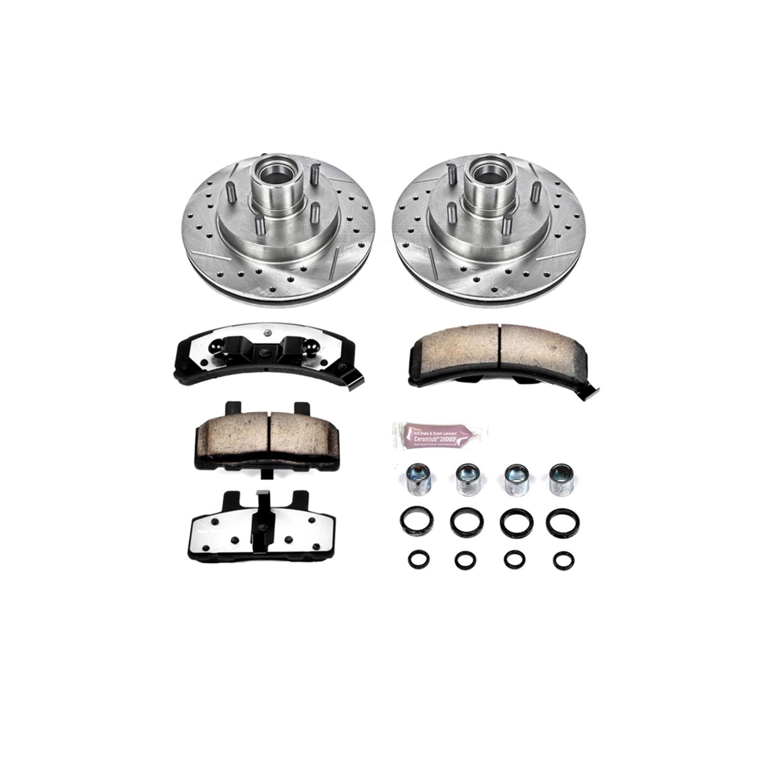 Power Stop Z36 Truck And Tow Performance Brake Kits K