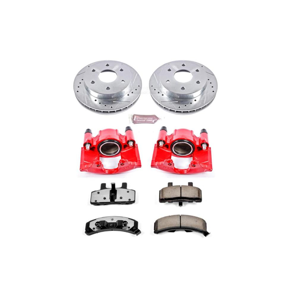 medium resolution of power stop z36 truck and tow performance brake kits with calipers kc1970 36 free shipping on orders over 99 at summit racing